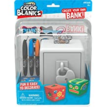 RoseArt Color Blanks Create Your Own Bank