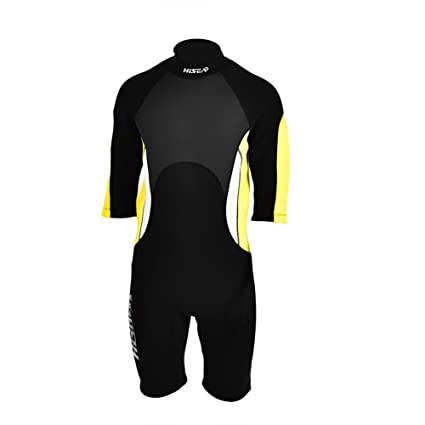 Vbestlife 3mm Adults Shorty Wetsuit Premium Neoprene Scuba One-piece Diving  Snorkeling Wet Suit Half Sleeve Surfing Swimwear for Men Women - M ce36c1fc5