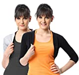 Espresso Women's Shrug 2 Pcs Combo Pack