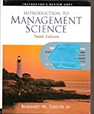 Introduction to Management Science, Taylor, 0136064647