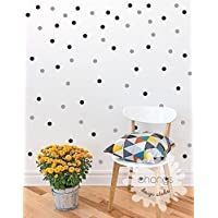 Polka dots Wall Decal / 2Color 140 Polka Dot/Small Polka...