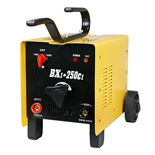F2C 250AMP ARC Welding Machine Dual 110/220 Volts Welder Metalworking Auto Home Shop(250AMP BX1-250c1)