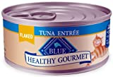 Blue Buffalo Healthy Gourmet Canned Cat Food, Flaked Tuna Entrée, (Pack of 24 3-Ounce Cans), My Pet Supplies