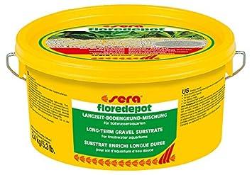 Sera floredepot Grava sustrato Bolsa, 2,4 kg: Amazon.es: Productos para mascotas