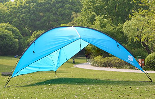 TuTu Outdoor Easy Up Canopy Tent with Sand Bags - Super Big Sun Shade Tarp and Lightweight Beach ... & Outdoor Easy Up Canopy Tent with Sand Bags - Super Big Sun Shade ...