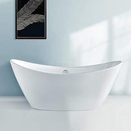 Bathroom With Freestanding Tub.Soaking Bathtub Bath Master 67 Acrylic Contemporary Bathroom Freestanding Tub With Chrome Overflow And Drain Cupc Certified 67 T09