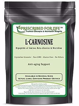 Carnosine (L) - Natutral Dipeptide of Amino Acids Beta-Alanine & Histidine, 4 oz