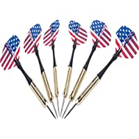 Hipkoo Air Steel Dart with Steel Tip (Pack of 6) Steel Tip Dart