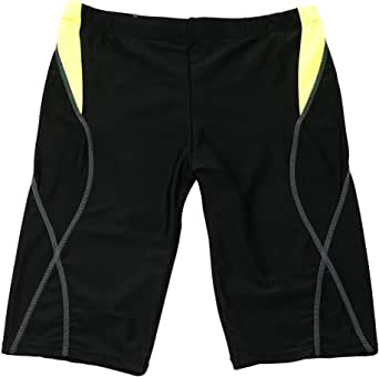 AIEOE Men Jammer Swimsuit Drawstring Quick Dry Athletic Swim Shorts