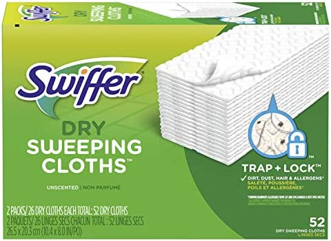 1 Pack 52 Count Swiffer Product Unscented
