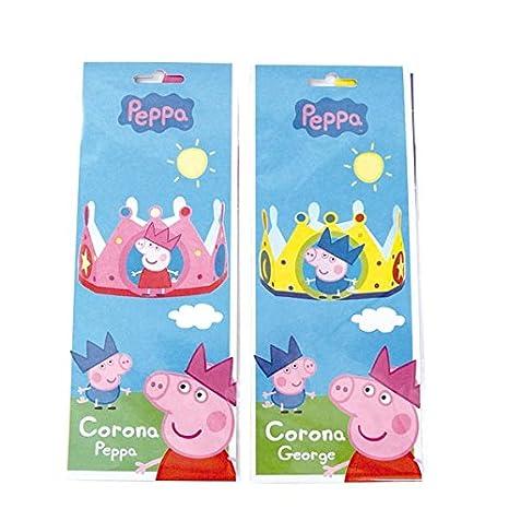 Peppa Pig 016000792 - Corona George, surtido: colores aleatorios (1 unidad)