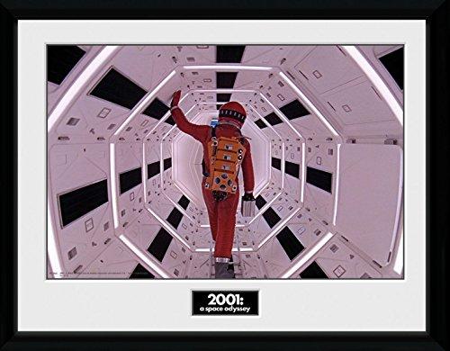 1art1 112865 2001 Astronaut Gerahmtes Poster F/ür Fans Und Sammler 40 x 30 cm Odyssee Im Weltraum