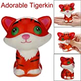 Jinjin Cute Tiger Toy, Cream Scented Squishies Very Slow Rising Kids Toys Doll Gift Fun Collection Stress Relief Toy (AS Show)