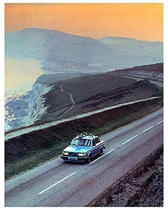 1980 Volvo 264 Bertone Factory Photo