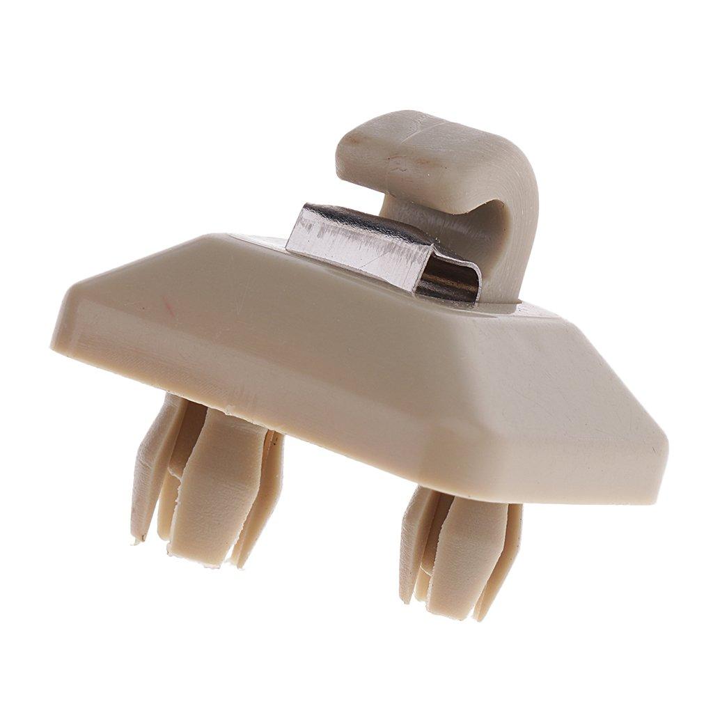 Shiwaki Supporto Del Gancio Della Clip Del Parasole Per Audi A1 A3 A4 A5 Q3 Q5 2013 2014 2015 Beige