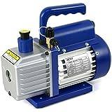 "ZENY 4CFM 1/3HP Electric Vacuum Pump Refrigerant R410a R134a HVAC Deep Vane Air Conditioner w/ 1/4"" Flare Inlet Port"