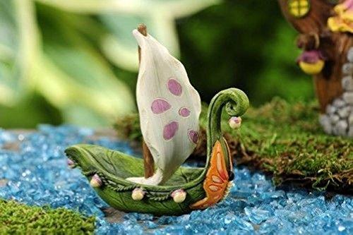 Miniature FAIRY GARDEN Fairytale Sailboat NEW