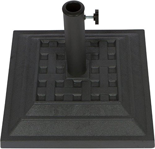 Square Resin Umbrella Base - 17.3