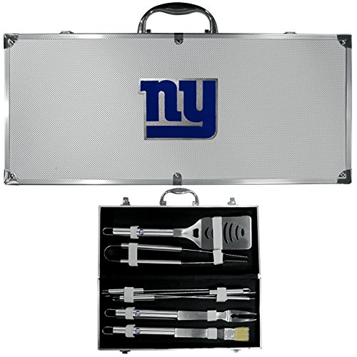 NFL New York Giants 8-Piece Barbecue Set w/Case