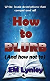 How to Blurb: (And how not to)