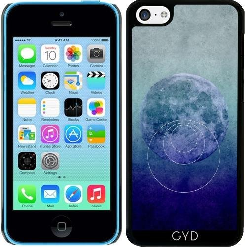 Coque pour Iphone 5c - Blue Moon Science Abstraite by Andrea Haase