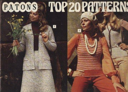 (Top 20 patterns (Patons knitting album))