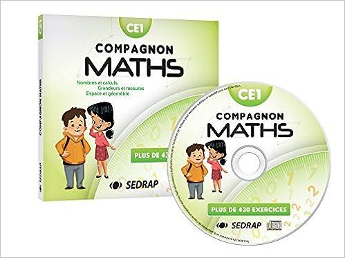 Book Maths CE1 Compagnon maths (1Cédérom)