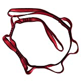 AxeSickle 2pcs Strong Climbing Strap Adjustable Strap Rope Strong Daisy Chain Nylon Daisy Chain