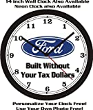 This is a NEW 10 inch Wall Clock. Made in the USA!   1aa Battery required but not included.   Photograph on Wall Clock is Printed in Full Color.   If this Auto or Motorcycle image is not the color you are looking for, please email me I may have what ...