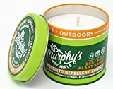 Murphy's Naturals New Mosquito Repellent Candle |Outdoor Citronella Candle Perfect for Patio, Yard and Garden | Ingredients Include Peppermint, Lemongrass, Soy and Beeswax | 9oz