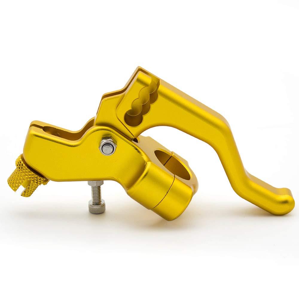 PROCNC Universal Performance Stunt Clutch Lever Fits Yamaha YZF R25 R3 MT-25 MT-03 14-16,FZ-09 15-16,R6 06-15,Suzuki GSX-R600//750 06-10 GSXR1000 05-06,Honda GROM 14-16,CBR250R 11-13,CBR300R 14-16