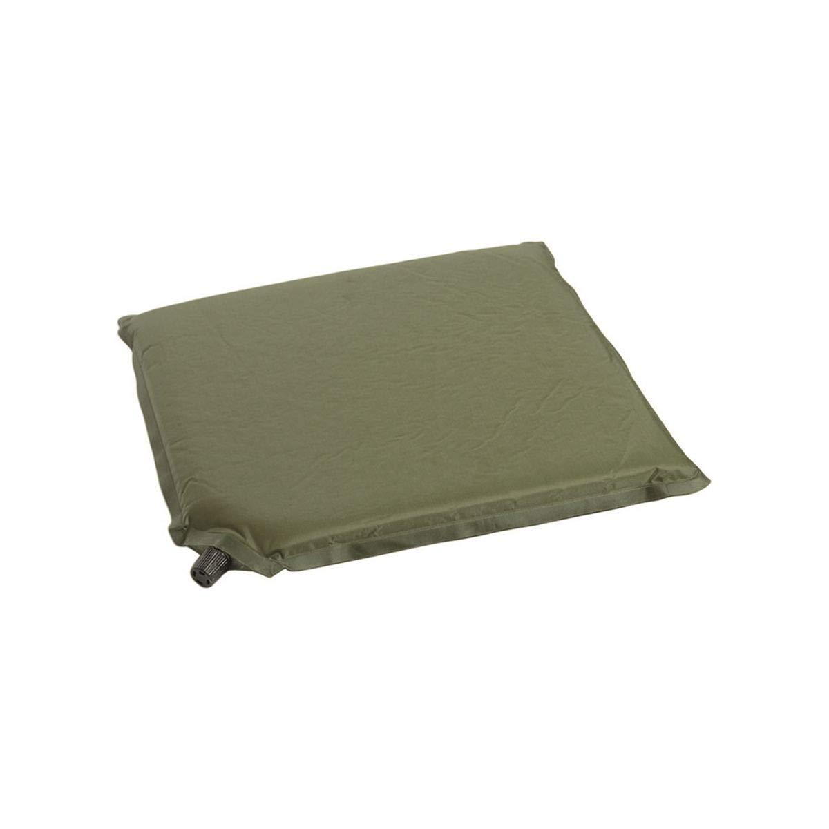 Wandern Schaumstoffmatte zum Sitzen Olivengr/ün selbstaufblasbar f/ür Camping Outdoor 35 x 32 cm