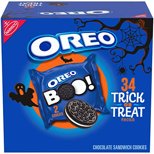 Oreo Chocolate Sandwich Cookies, Special Halloween Edition, 34 Count per pack, 26.52 Ounce