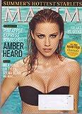 Aug 2008 *MAXIM # 128* Magazine Featuring, Pineapple Express Bombshell AMBER HEARD