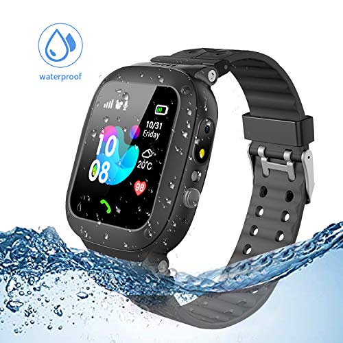 Jsbaby Kids smartwatch Waterproof with LBS/GPS Tracker Smart Watch Phone