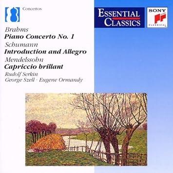 Brahms - Piano Concerto 1 etc by Serkin - Serkin, Szell, Ormandy:  Amazon.de: Musik