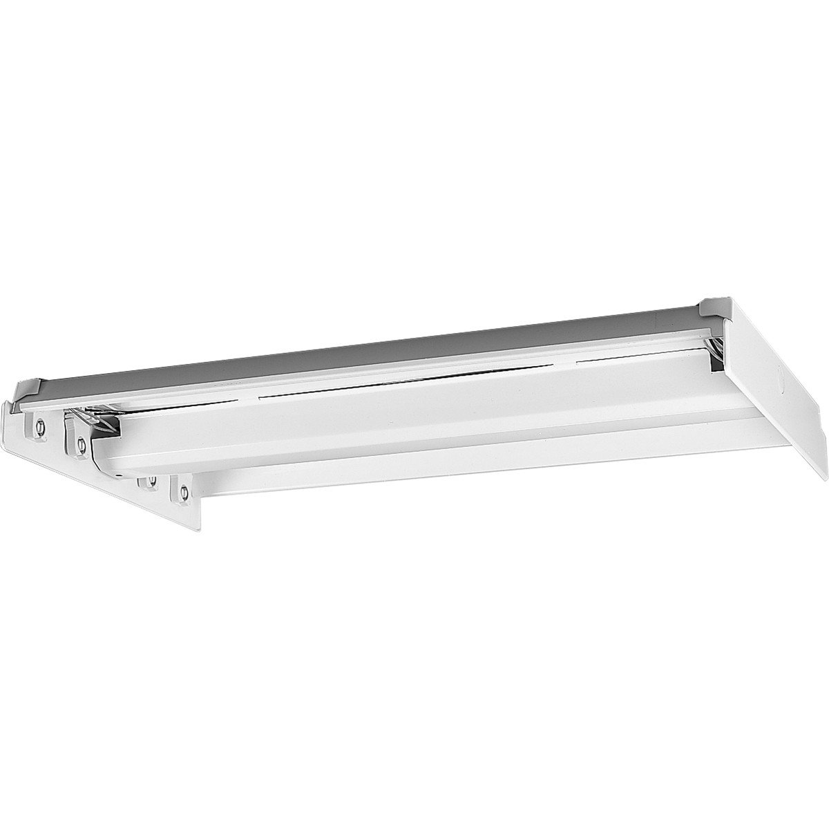 Progress Lighting P7216-30EB Surface Mounted White Chassis Regressed within Trim Standard 120 Volt High Power Factor Electronic Ballast, White