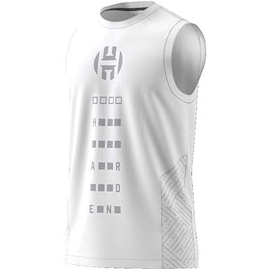 adidas Harden SL Tank Camiseta de Baloncesto, Hombre: Amazon.es ...