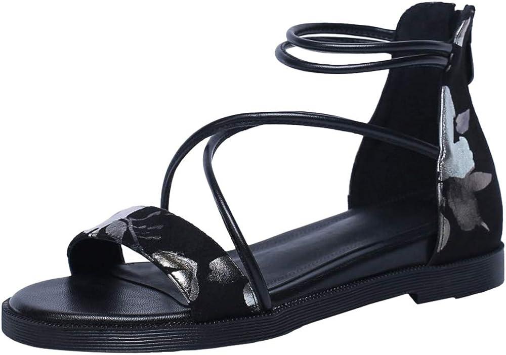 VulusValas Women Comfort Open Toe Sandals