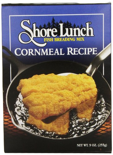 Shore Lunch Breading Mix Cornmeal Recipe, 9-Ounce (Pack of 6) (Best Low Calorie Lunch)