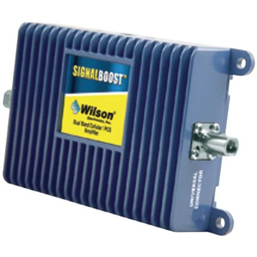 Wilson Electronics 811210 Amp with 12V DC Cord & Ultra-Slim Internal Antenna without Cradle ()