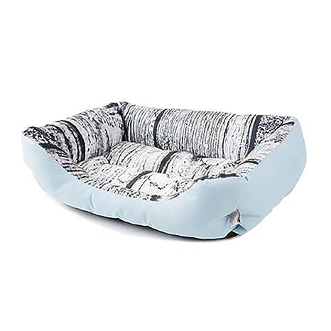 Cama para perros Perros sof cama lavable, cuatro de rectangular Perros cesta para perro (