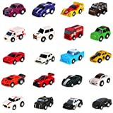 Liberty Imports 20 Assorted Pullback Deluxe Car Gift Pack Play Set