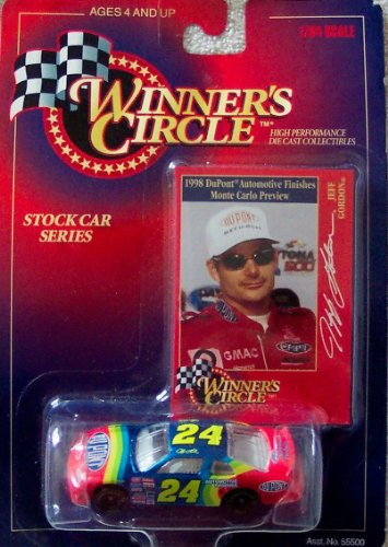 Winners Circle Jeff Gordon 1:64 Scale Nascar #24 Dupont Stock Car - 24 Scale Stock Car