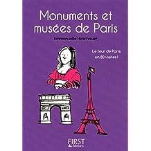 Petit livre de - Monuments et musées de Paris (LE PETIT LIVRE)