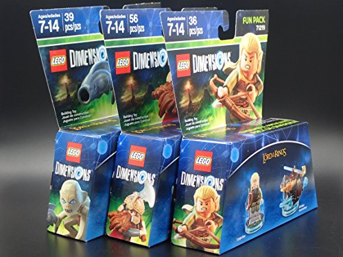 Lego Dimensions 3-Pack Lord of the Rings