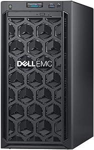 Dell PowerEdge T140 Mini Tower Server with Intel Xeon 3.3GHz CPU, 64GB DDR4 RAM, 16TB HDD Storage, RAID (Renewed)