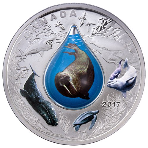 2017-ca-canadian-underwater-life-with-3d-water-droplet-1-oz-colorized-proof-original-mint-packaging-