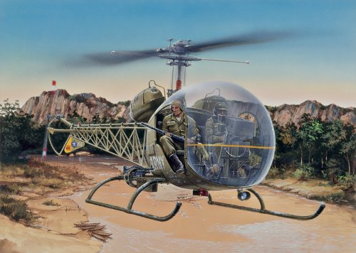 Italeri 0857 OH-13S Sioux 1/48 Scale Helicopter Model for sale  Delivered anywhere in USA