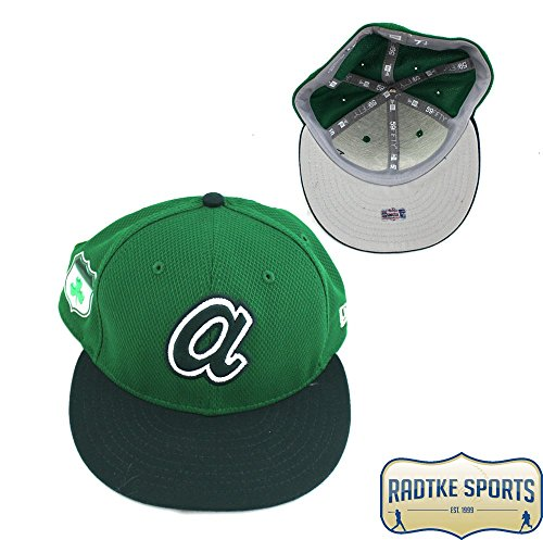 - Dansby Swanson Atlanta Braves Spring Training 2017 Game Used Green Hat